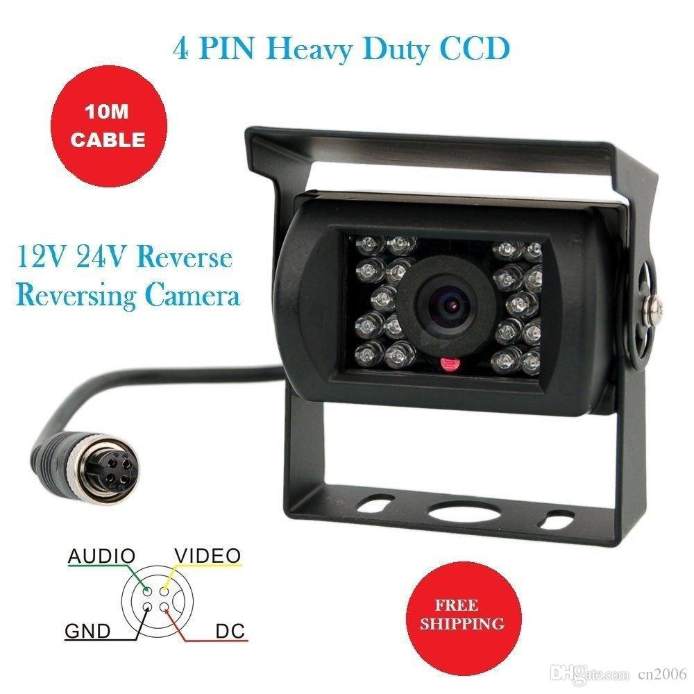 Bus Truck Rear View Back Up Reverse Car Parking Camera System Kit