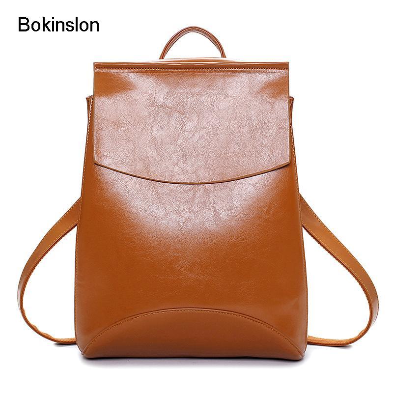 74394c0a95 Acquista Bokinslon Borse Donna Zaino Casual Fashion Butterfly Girl Zaino Da  Viaggio Popolare PU Leather Designer Donna A $146.4 Dal Sunace | DHgate.Com