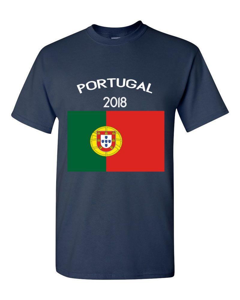 5e6dc98b2beb5 Compre 2018 Portugal Bandeira Rússia World Match Cup Sporty Jersey Mais Novo  Verão T Camisa Dos Homens Fãs Jogador De Futebol Objetivo Tee De Jie78