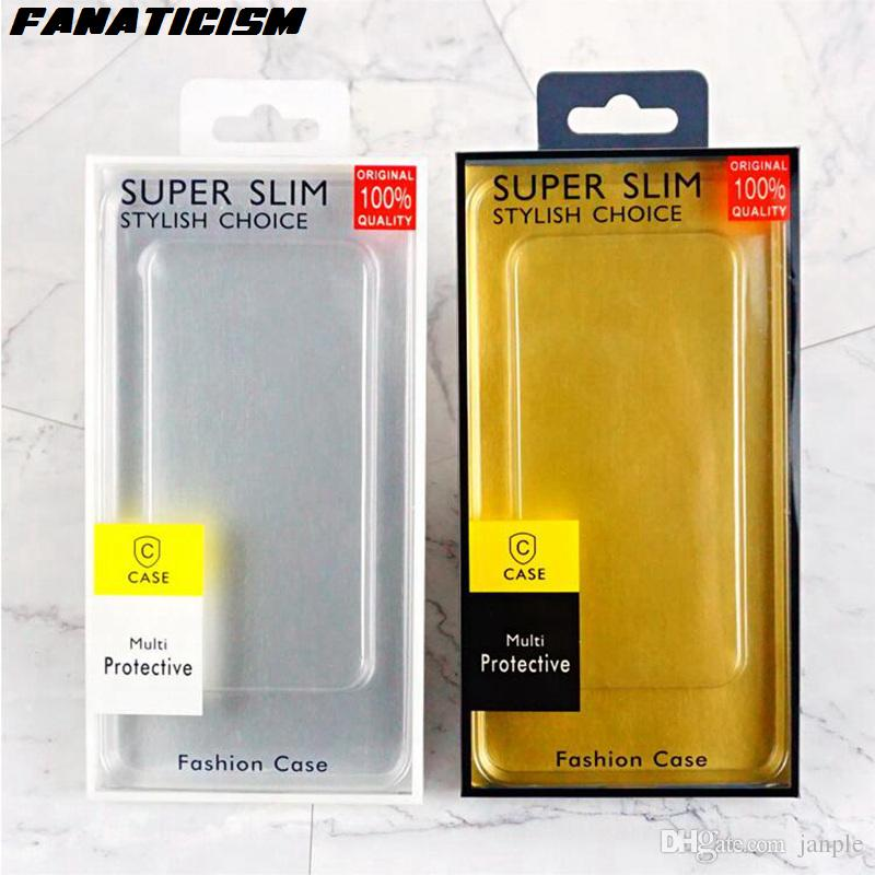 Fanaticism Universal PVC Blister Retail Packaging Box For iphone XR XS Max 7 8 Samsung S10 S9 S8 Plus Note9 Cover Retail Package