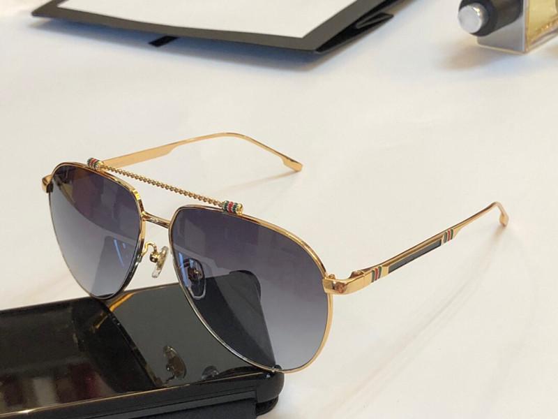 ea0c35e4a Compre Moda Luxury Attitude Gafas De Sol Para Hombre 1033 Marco De Metal  Ovalado Diseñador UV400 Protección Piloto Gafas Color Dorado Marco Plateado  Con ...