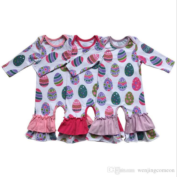 0d5fd6dd8aa27 2019 2019 New Arrival Easter Girl Rompers Newborn Baby Knitted Cotton Ruffle  Infant Jumpsuits Boutique Kids Clothing From Wenjingcomeon, $7.54 |  DHgate.Com