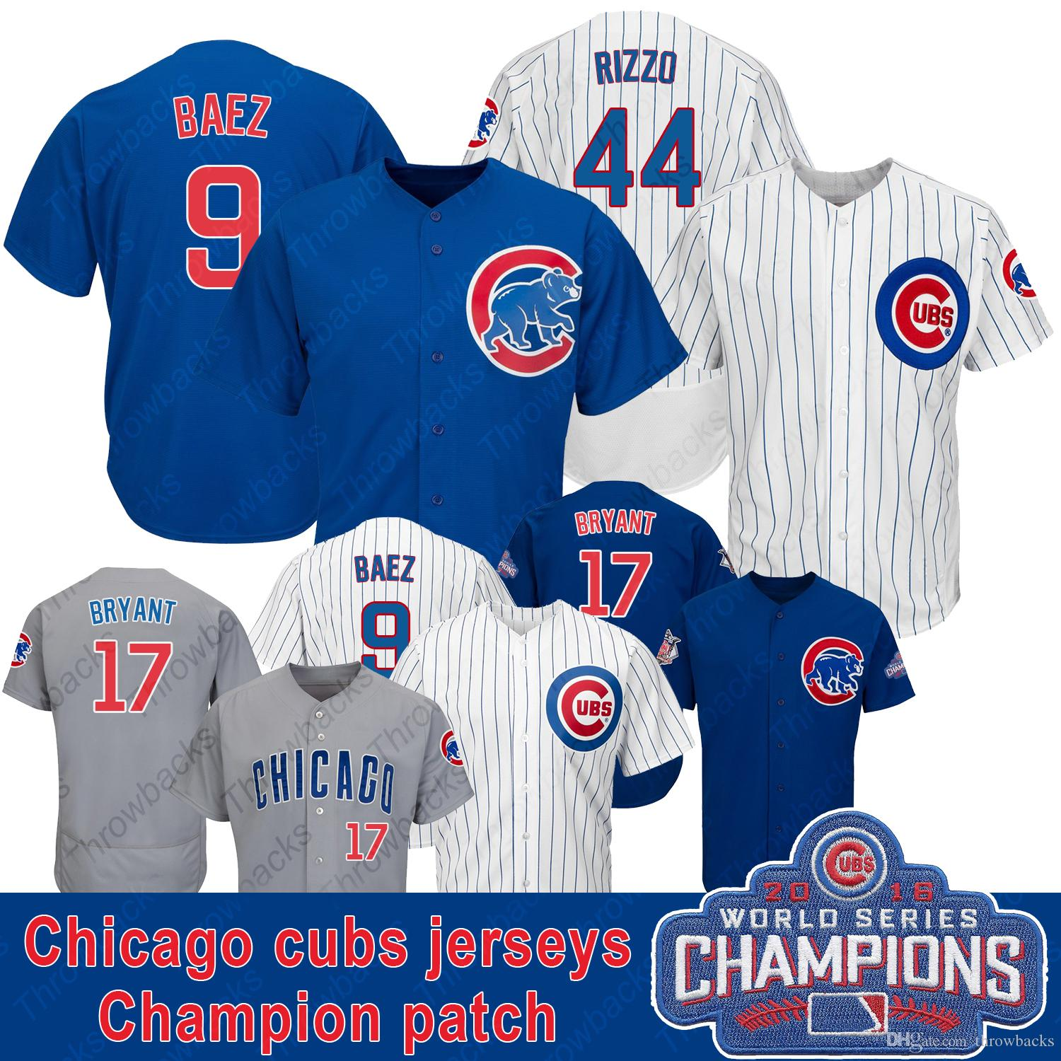 Throwback Jersey Mens Chicago Rizzo Jerseys Baseball Jersey Shirt Wholesale Stiched Cheap Color White Blue Gray Sports & Entertainment Team Sports