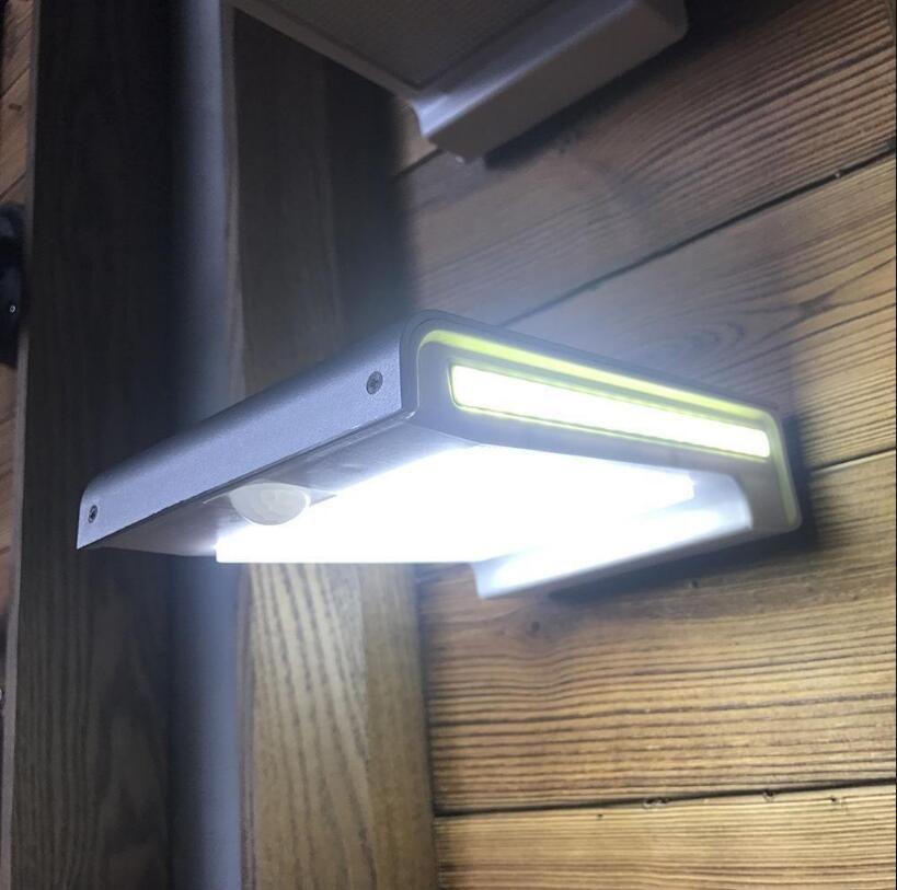 Acheter 72LED COB Solaire Murale Lumière Capteur De Mouvement ...