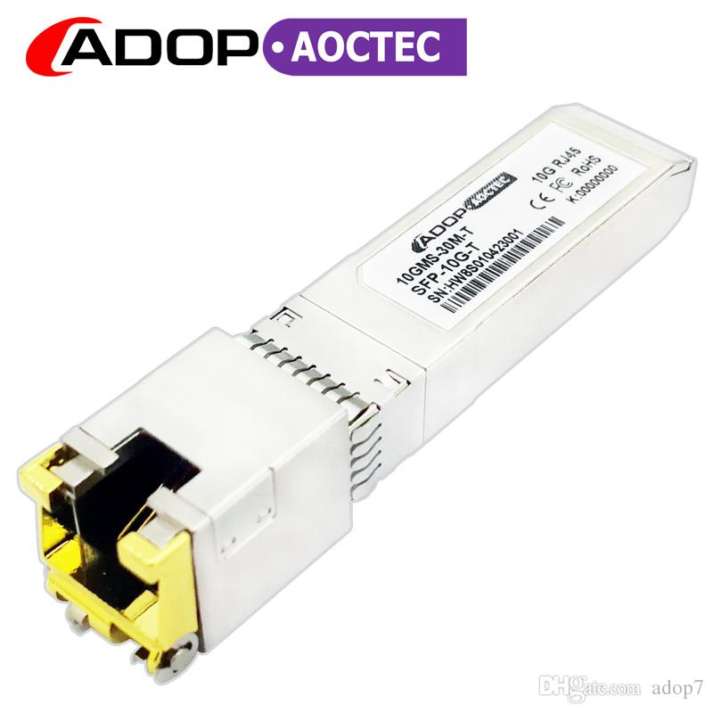 ADOP for Arista Dell HPE Cisco Networks SFP-10GE-T Compatible 10GBASE-T SFP  Copper RJ-45 30m Transceiver Module