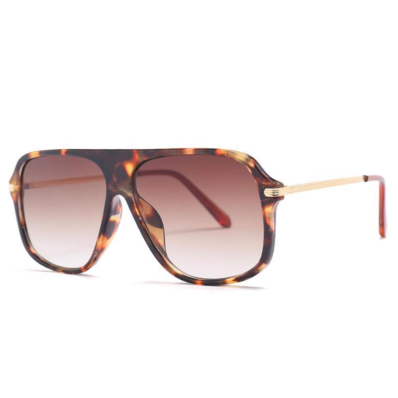 b724d0f51af Classic Style Men Vintage Sunglasses Fashion Brand Gradient Lens ...