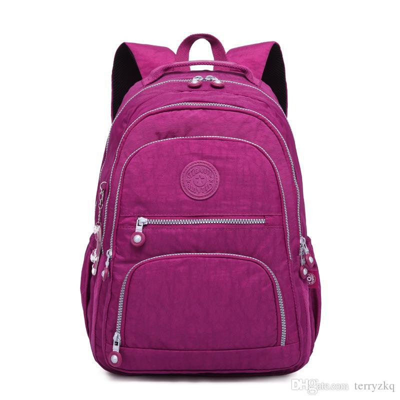 Fashion Outdoor Backpacks Women School Backpack For Teenage Girls Female  Mochila Feminina Mujer Laptop Backpack Travel Bags Sac A Dos BKB001 Back  Pack ... a98e8fce08aa6