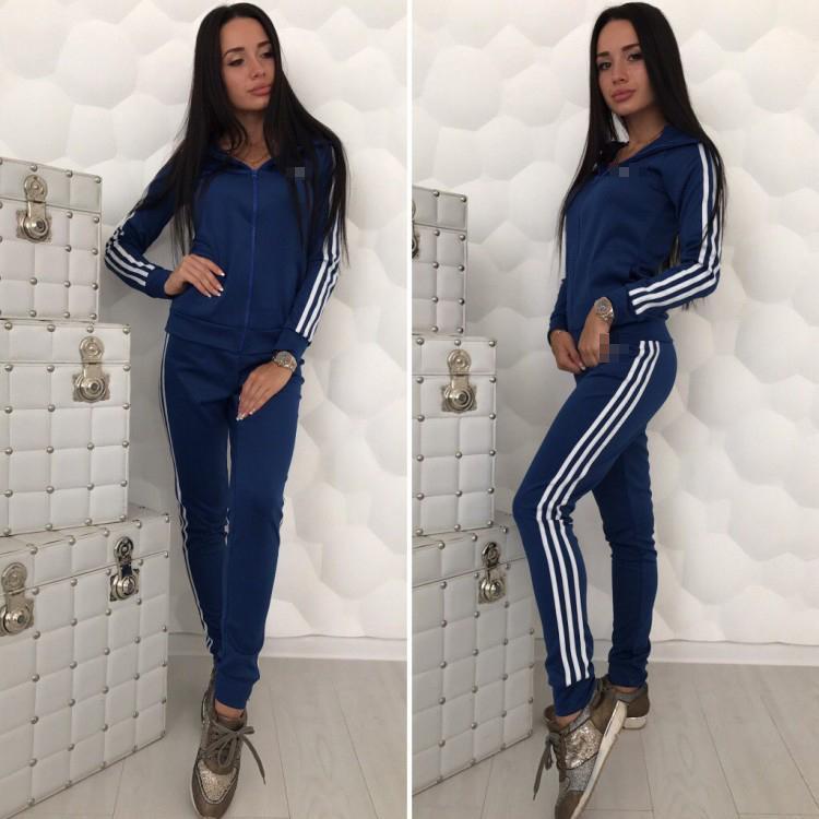 pretty nice bf1b6 c05a5 Tuta da donna Tuta Fashion Sport Brand Donna 2 pezzi Felpa sportiva Felpa  casual con cerniera Tre strisce Logo S-XL