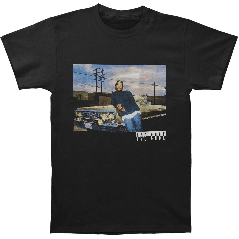 450fa6972 Ice Cube Men's Impala T-shirt Black Funny 100% Cotton T Shirt Size ...