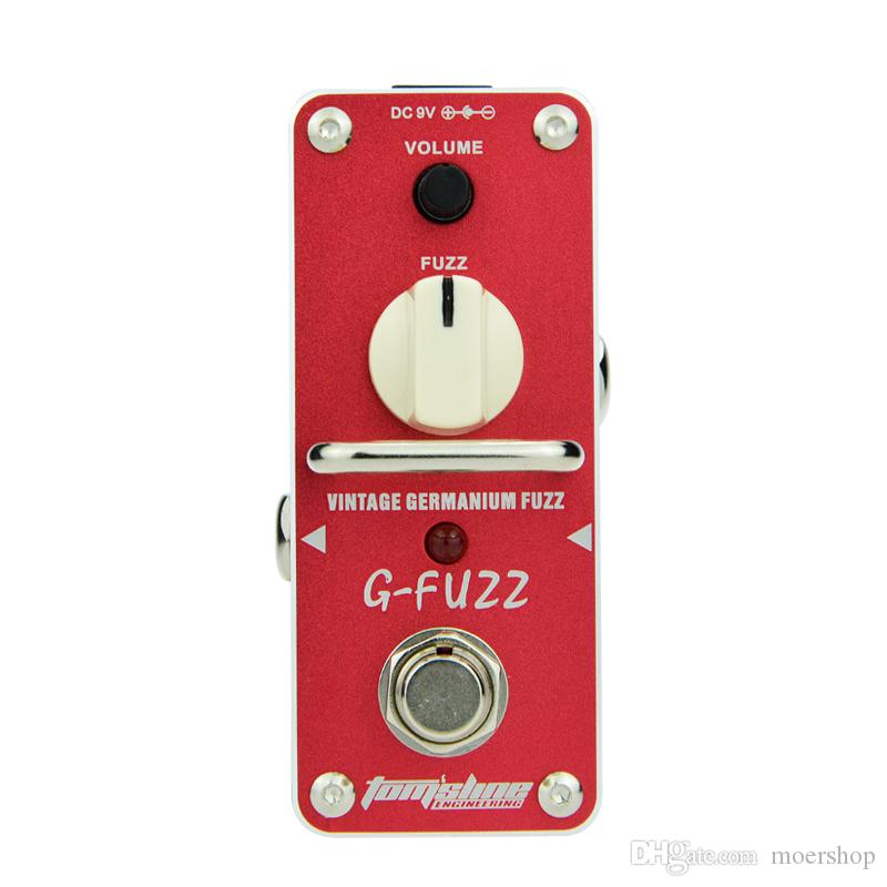 AROMA AGF-3 Guitar Pedal Fuzz Guitar Effect Pedal Vintage Germanium Mini Analogue True Bypass Guitar Parts & Accessories