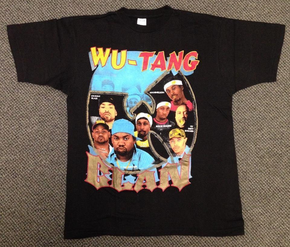 Rare Wu Tang Clan Tshirt 90s Hip Hop Rap Raekwon Ice Cream High