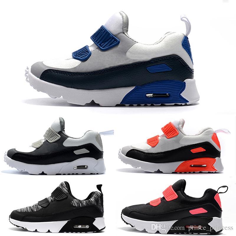 cheaper a8c14 e7337 Compre Nike Air Max 90 Zapatillas 2019 Zapatillas Presto 90 II Para Niños  Zapatillas Deportivas Para Niños, Ortopédicas, Para Niños Zapatillas Para  Niños, ...