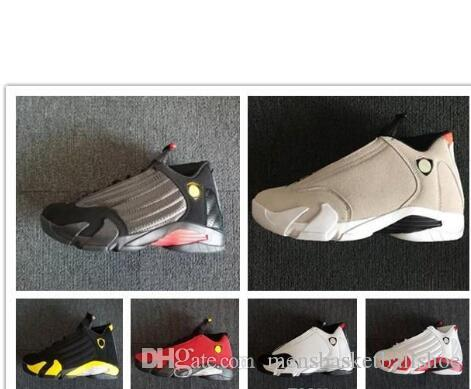 2a2d3b28c380d 14 Last Shot 14s DESERT SAND Mens Basketball Shoes 14s BLACK TOE Mens Sport  Shoes Boots Sneakers Athletics Free Shippment Footwear Basketball Shoes For  Sale ...