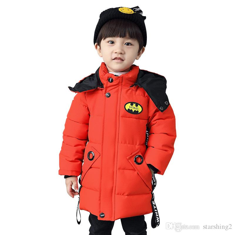 ee07bfe78 2018 New Children s Clothing New Boys  Cotton-Padded Jacket ...