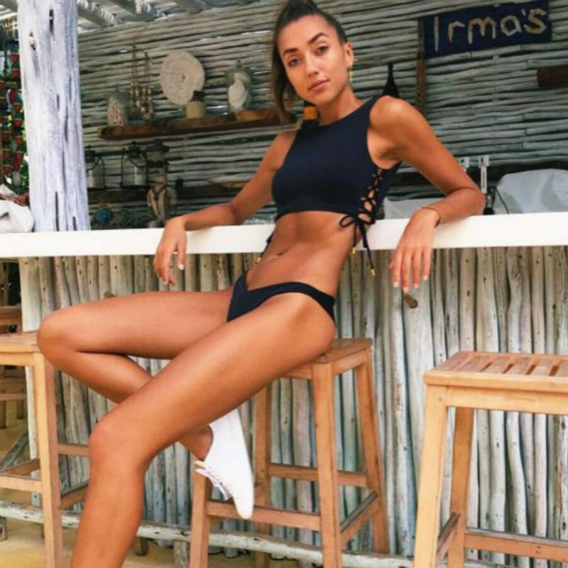 c18fd14800 2019 Hot Hothot Sports Bikinis 2019 Mujer Bandage Vest Bikini ...