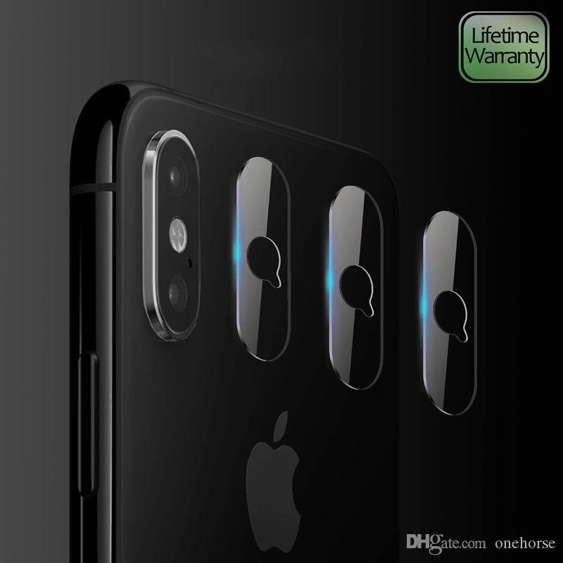 Camera Lens Protectors For iPhone Xs Max Xs Xr Ultra Thin High Definition Tempered Glass Screen Protector Bubble-Free Anti-Scratc