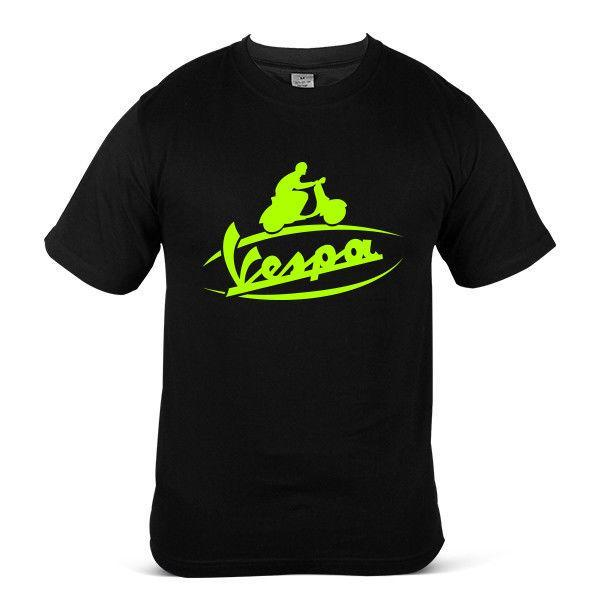 Vespa Superbike Rider Motorcycle Racing Sports Streetwear Bike Mens Tee T-shirt