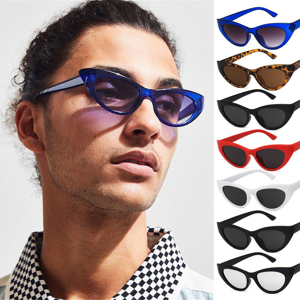d6b5446ea1 New Retro Triangle Cat Eye Sunglasses European And American Trend Ladies  Fashion Small Sun Glasses Gafas De Sol Mujer Glasses For Men Mens Eyeglasses  From ...