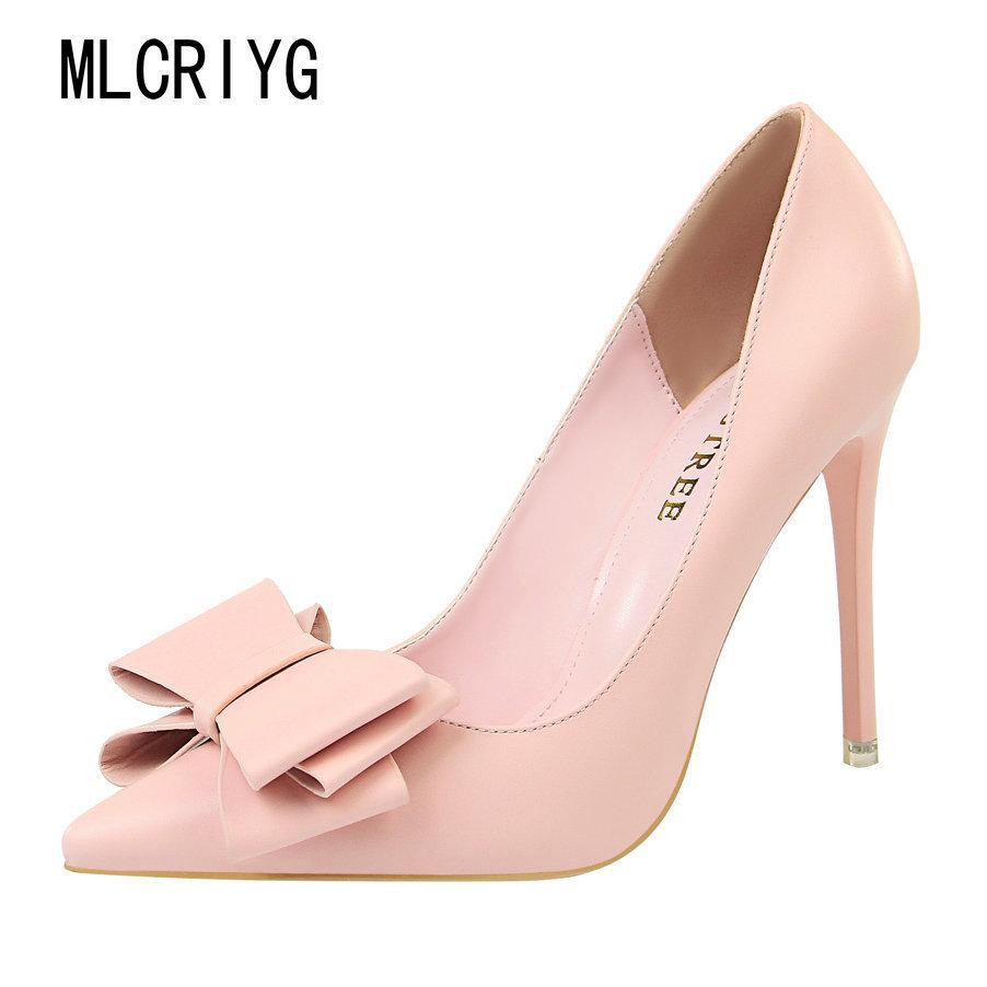 7e26bf38481c7 Dress 2019 New Women Pu Leather Pumps Sky High Heels Concise Suede Shoes  Woman Summer Super Elegant Ladies Party Red Beigh Footwear Nude Shoes Womens  ...