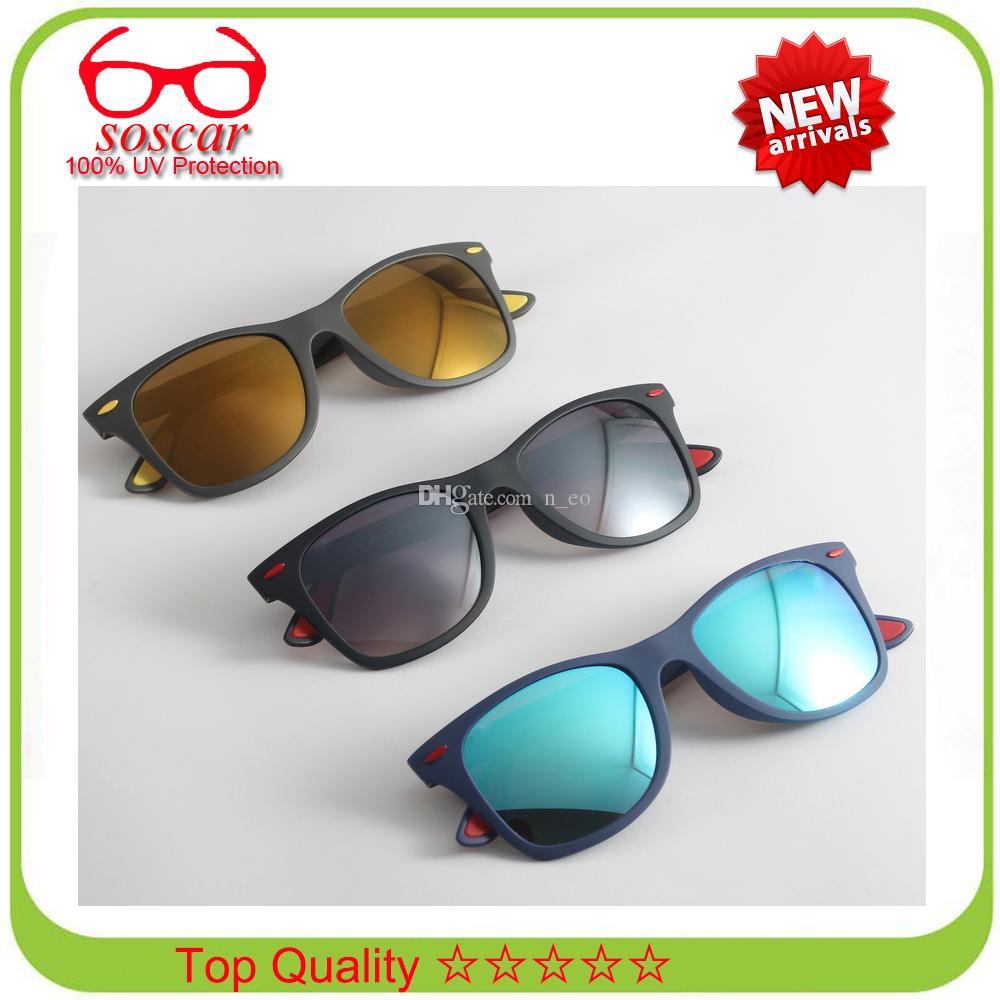 2739404d93 Soscar 4195M Liteforce Square Sunglasses Ultra Light Frame Brand Designer  Sunglasses Sports SUN Glasses Resin Lens 52mm With Original Box Sunglasses  Shop ...
