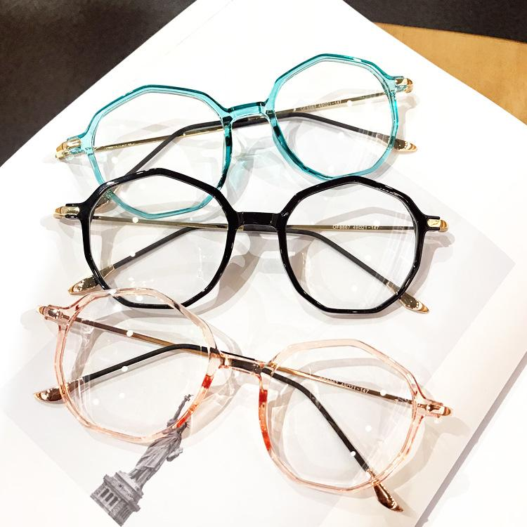 fd2e7ac1181 2019 2018 TR90 Fashion Women Glasses Frame Men Eyeglasses Frame Vintage  Round Clear Lens Glasses Optical Spectacle With Box FML From  Marquesechriss