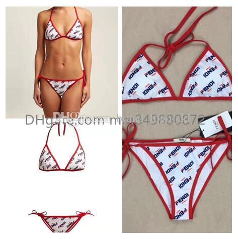 4d1c36c3e Compre 2019 Luxo Ff Carta Biquíni Swimwear Para Mulheres Maiô Beachwear  Verão One Piece Sexy Lady Swimsuit De Logo2019, $10.61 | Pt.Dhgate.Com