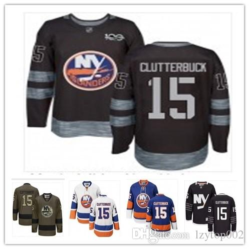 best service a6232 4bb72 top can New York Islanders Jerseys#15 Cal Clutterbuck Jersey  men#WOMEN#YOUTH#Baseball Jersey Majestic Stitched Professional sportswear