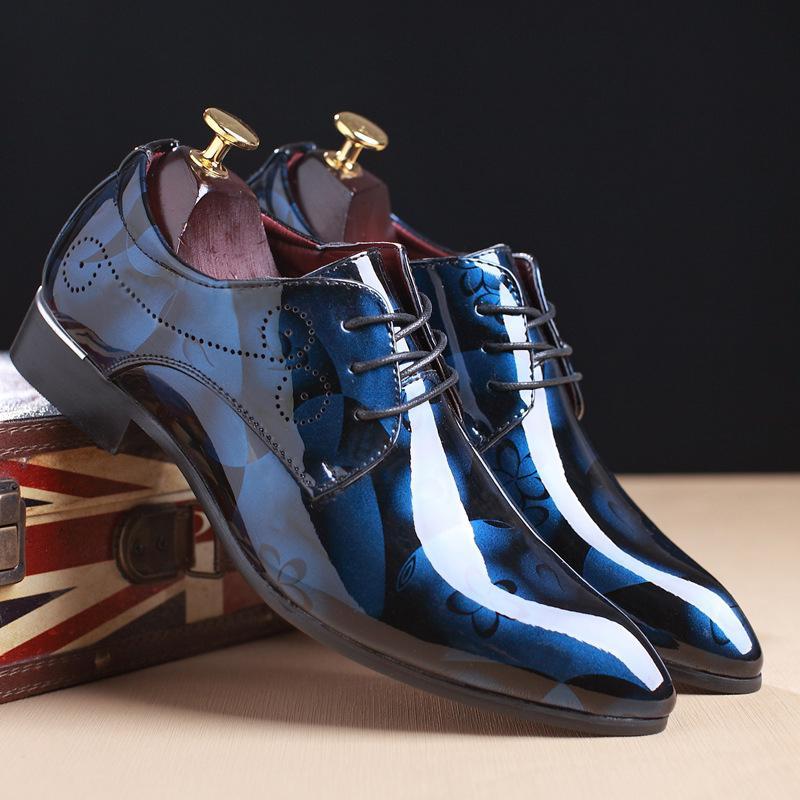 a1795a2f9 Compre 28 68 Homens Sapato Social Verão Designer De Couro Vestido De  Casamento Elegante Social Sapatos Homens # MSW8118112 De Mikeey, $59.34 |  Pt.Dhgate.Com