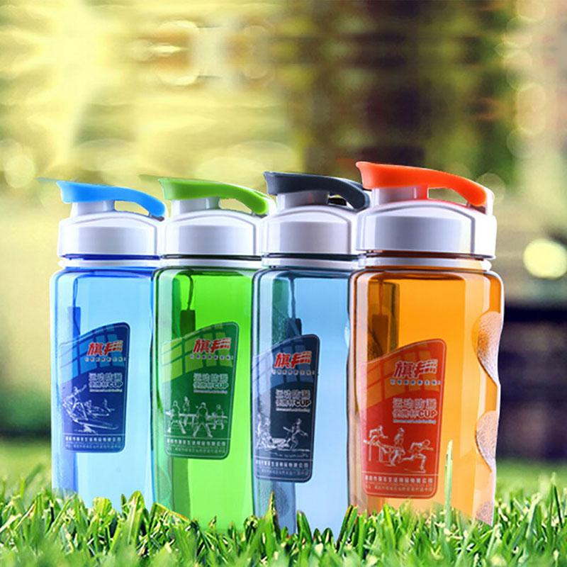 Plastic Sports Bottle Water Bottle Space Cup 470ml For Bike/Outdoor/Camping Protein Shaker