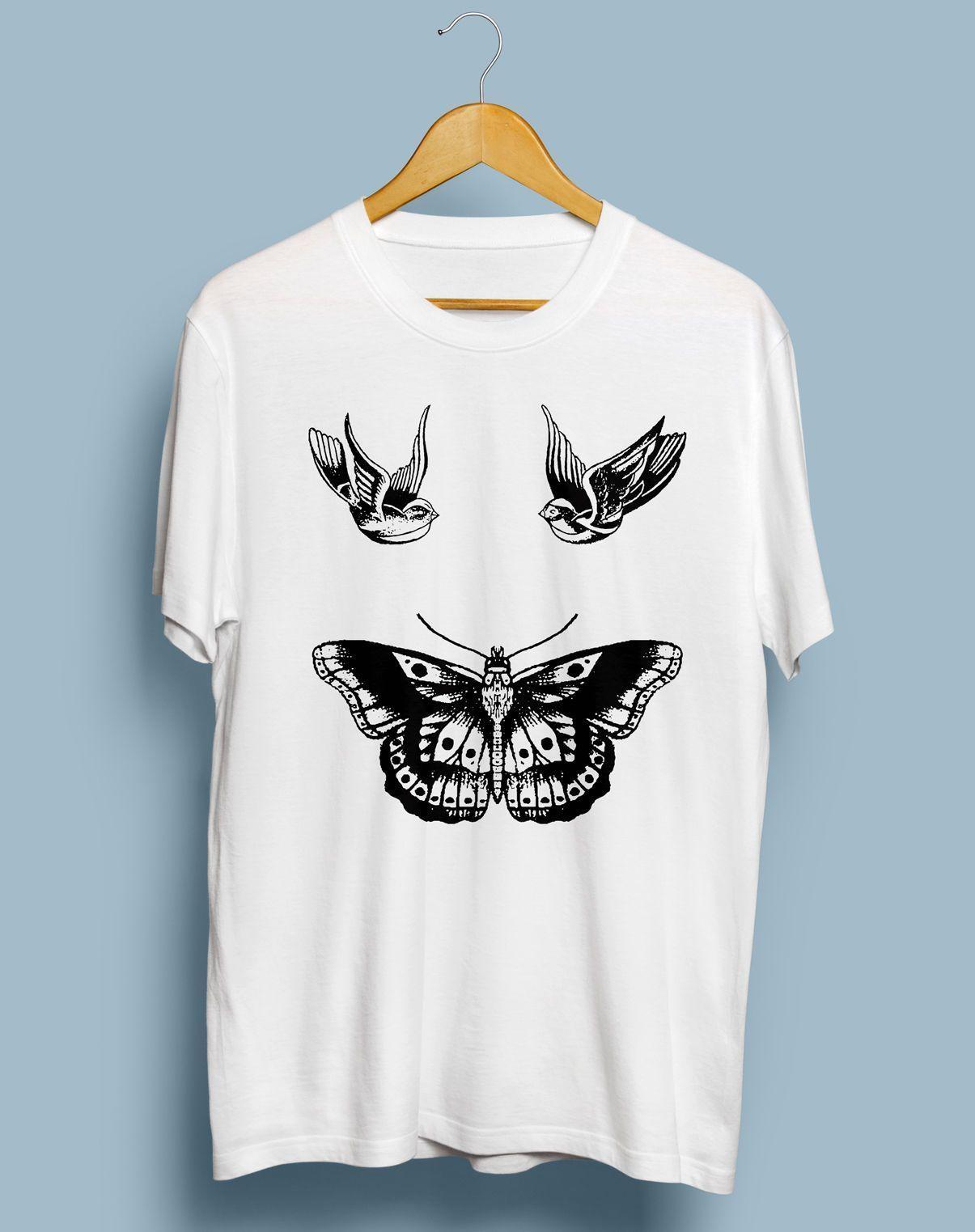 49e458a22b13 Harry Styles Tattoo T ShirtFunny Unisex Casual Tshirt Top Printing On T  Shirts Crazy T Shirts From Pepitaprint