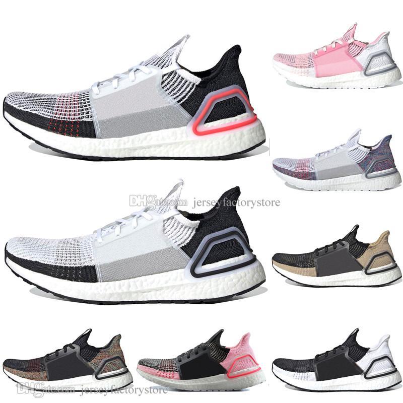 Cheap 2019 Ultra Boost 19 Laser Red Refract Oreo mens running shoes for men Women UltraBoost 5.0 Dark Pixel Sport Sneaker Designer EUR 36 45