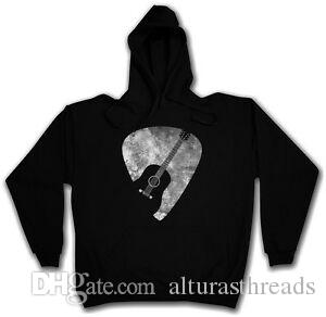Plectrum Hoodie PiPrint Quill SKIRT FlatpiPrint Guitar Musican Music Metal Band Roll