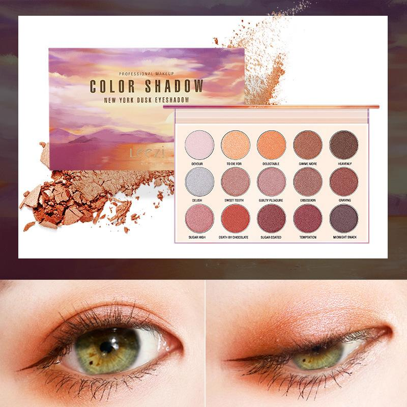 Cosmetic Matte Eyeshadow Cream Eye Shadow Makeup Cosmetic Pressed Glitter Palette Eyeshadow Palette Sombras Maquillaje #3 Less Expensive Beauty & Health