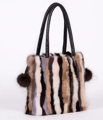ba0e6c5d40 2019 Fashion Mink Fur Bag Messenger Shoulder Bag Ladies Genuine Leather  Women Handbags Real High Quality Fur Cross Body Bags Top Handle Purses  Wholesale ...