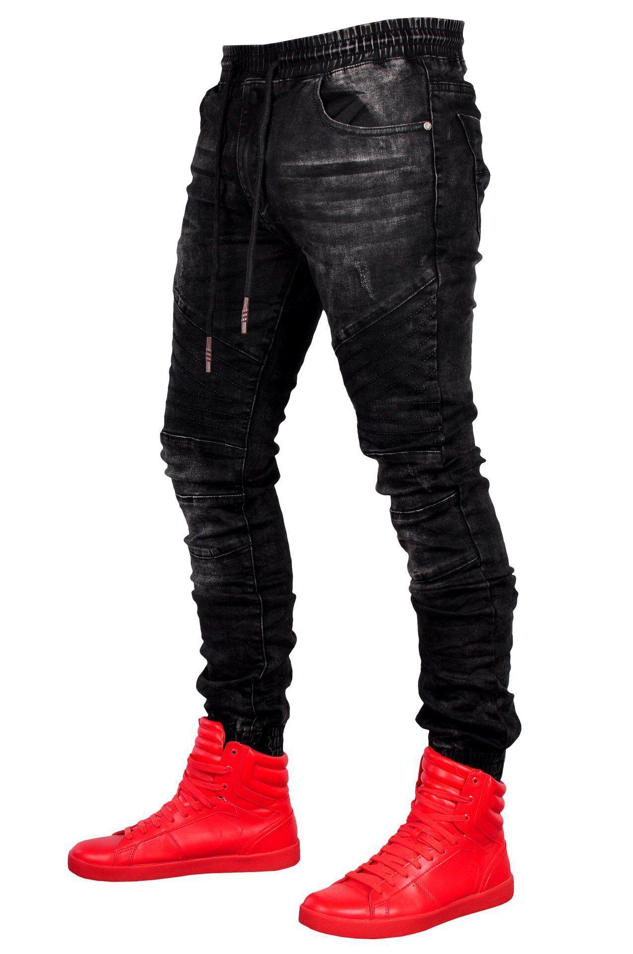 da502d06ae4b10 Motorrad Biker Männer Slim Fit Zerrissene Jeans Herren Distressed Denim  Skinny Washed Vintage Zipper Jeans Von Boy_top2028, $27.42 Auf De.Dhgate.