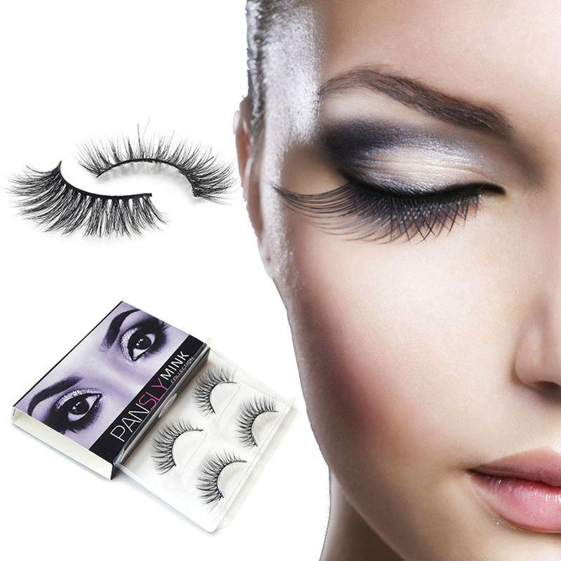3d Mink Lashes Natural Long False Eyelashes Dramatic Volume Fake