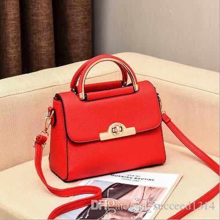 Spring and Summer Small Bag New Chao Korean Bride and Girl Bag Red Marriage Lady Handbag Single Shoulder Slant Bag Wholesale