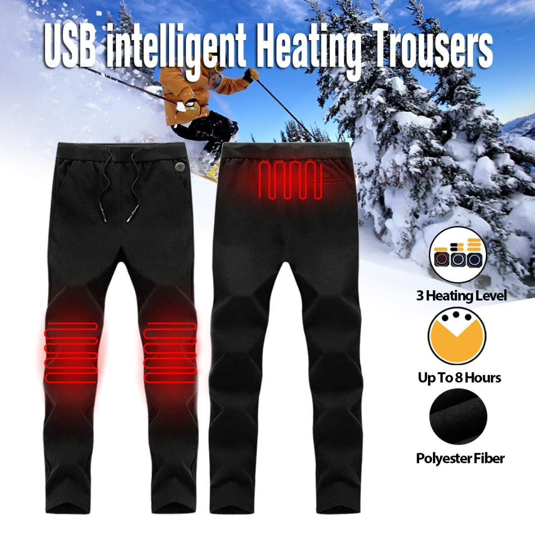 69d16506b7116 2019 NEW Men Women Outdoor Heating Pants Trousers High Waist Leggings  Trousers Slim Thickened USB Charging Pants For Hiking From Gqinglang,  $47.58 | DHgate.