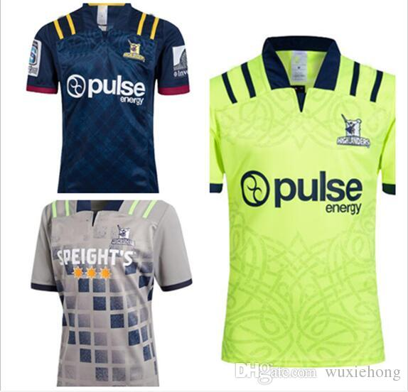 9ef0eb041d2 2019 2018 Chiefs Super Rugby Jersey New Zealand Super Chiefs Blues  Hurricanes Crusaders Highlanders Shirts SIZE: S 3XL From Wuxiehong, $14.22  | DHgate.Com
