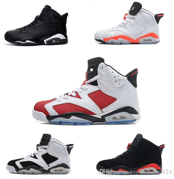 44e4fa15c02 High Quality 6 Basketball Shoes New 6s Men S Women Hombre Basket Sneakers