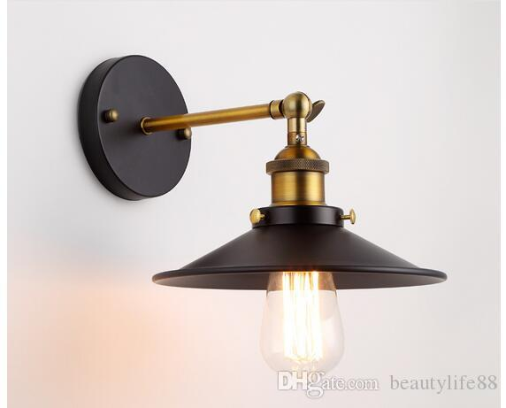 Lampada parete applique classico rustico illuminazione interni