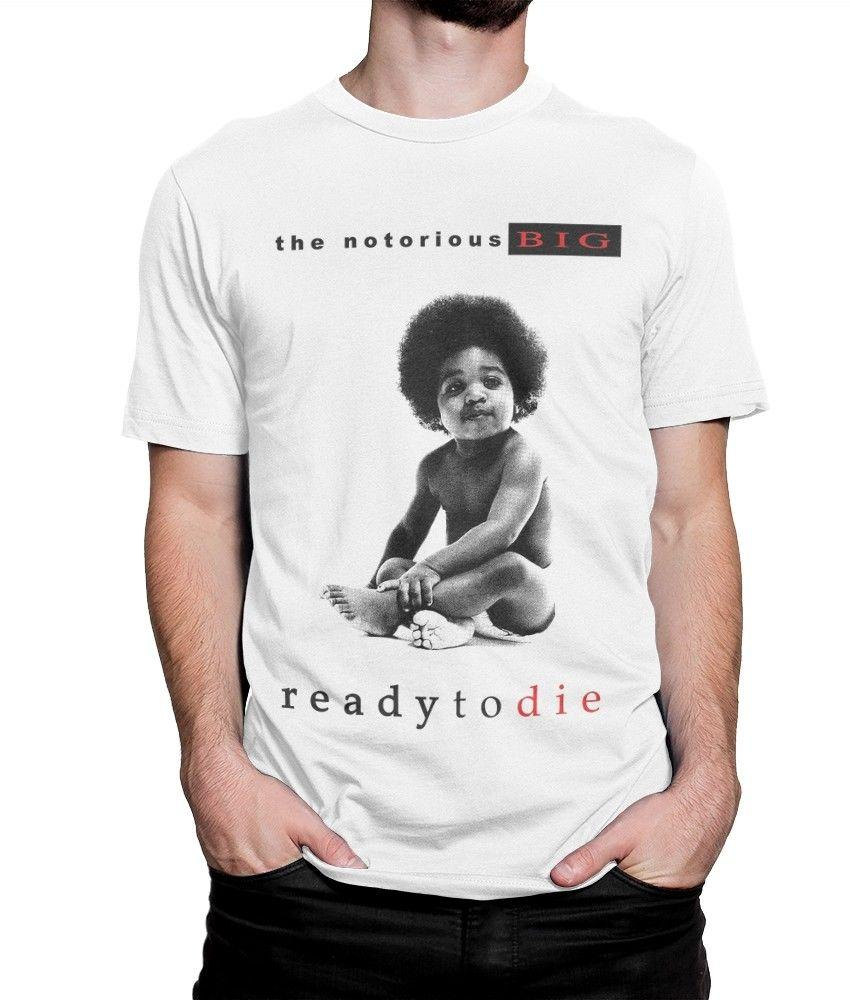 1b965bfe The Notorious B.I.G. Ready To Die T Shirt, Biggie Smalls Hip Hop Tee, All  Sizes White Black Grey Red Trousers Tshirt Clever T Shirts Best Tee Shirts  From ...