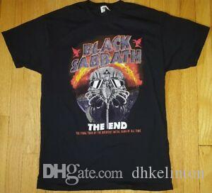 Official new 2016 BLARock SRoRockTH The End maglia M blaRock Ozzy concerto finale tour