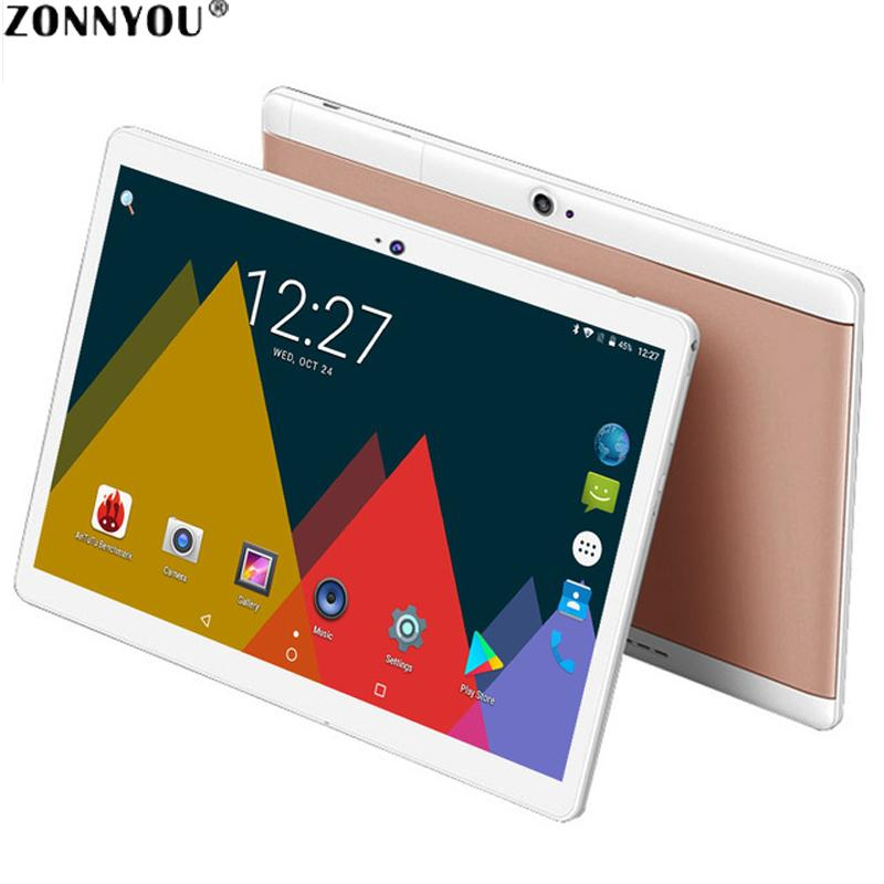 10 1 inch Tablet PC Original 3G Phone Call Tablet 3G SIM Card Android 7 0  Octa Core 4GB 32GB Wi-Fi FM Bluetooth Anroid PC
