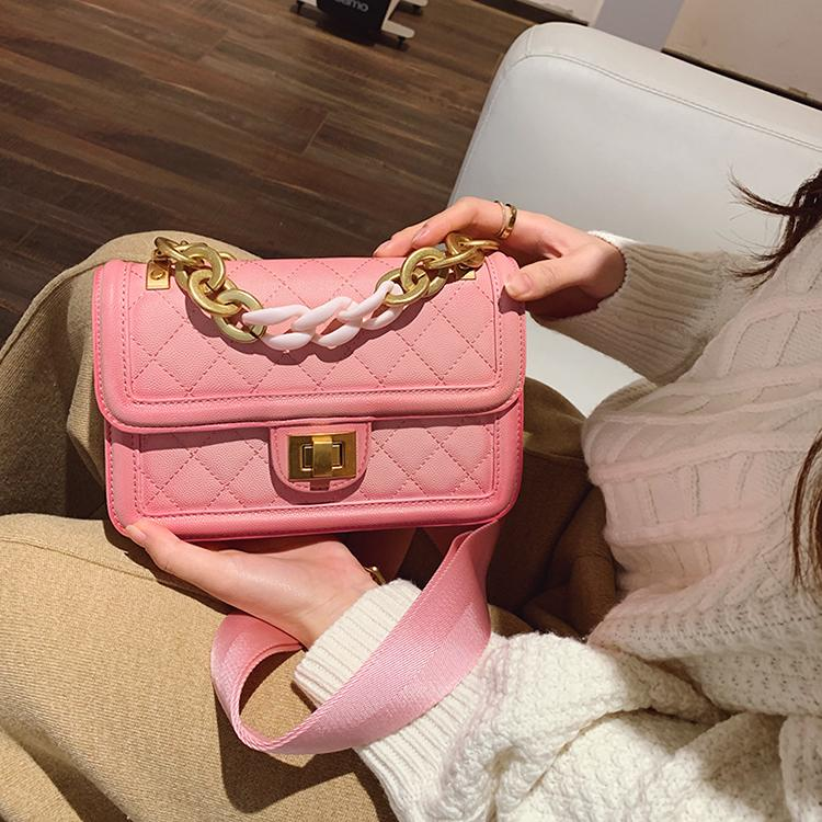 036283fbc58 shoulder bag women spring pink shoulder bags girls designer handbag leather  crossbody bags lady new arrival