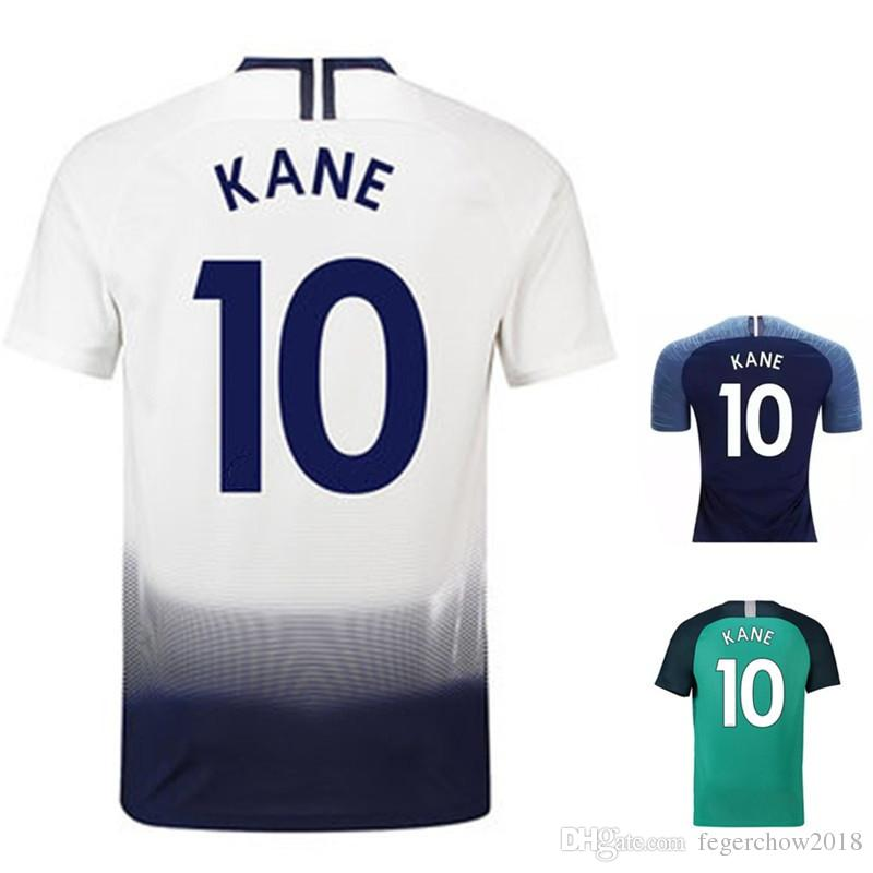on sale 729a3 cb7fb Harry Kane Dele LAMELA soccer Jersey 18 19 Lamela Eriksen Football Shirt  Uniforms Dele Alli Son Dembele top thai quality jerseys