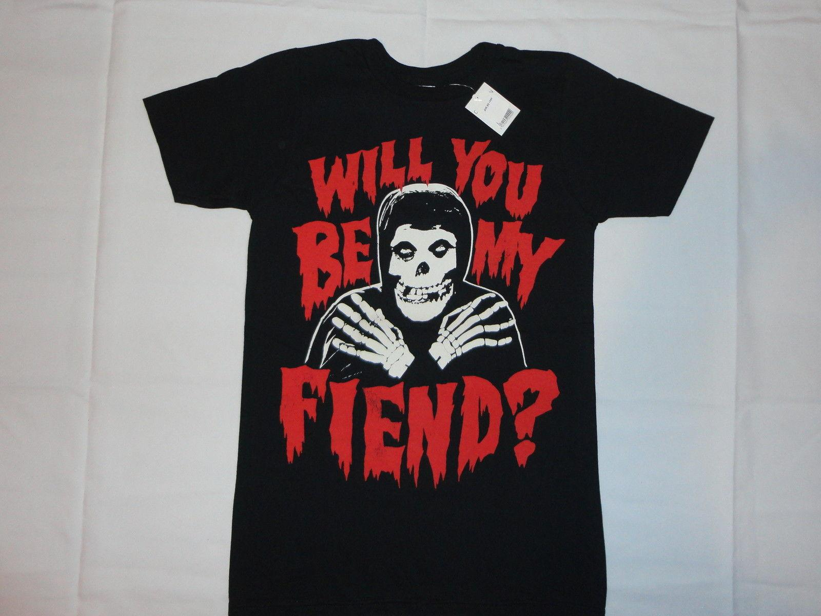Fiend Skull Official T Shirt MISFITS T SHIRT S-M-L-XL-2XL Brand New