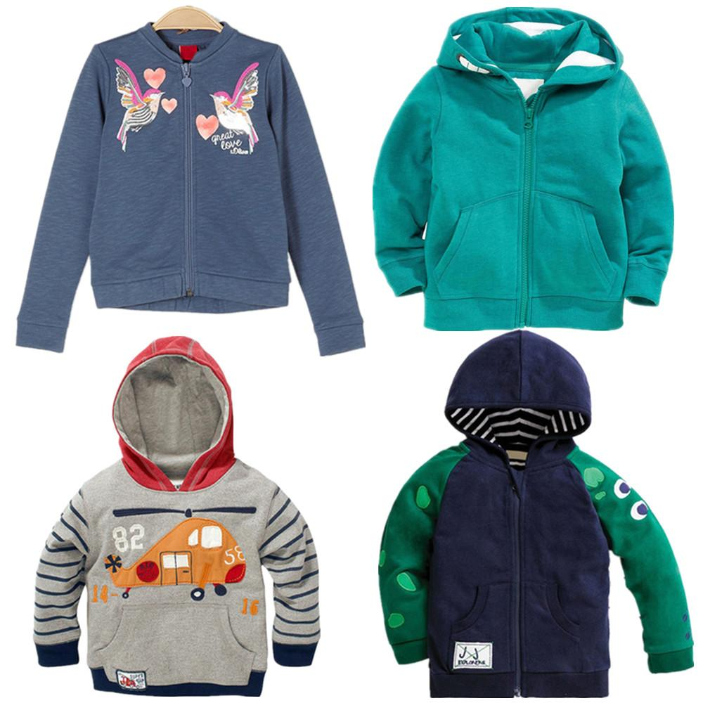 a595a1635 Little Maven Boys And Girls Fleece Sweatshirt Cartoon Embroidery ...