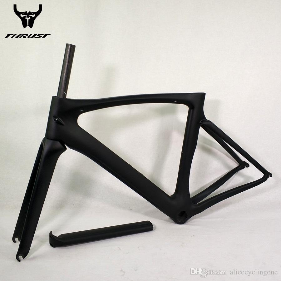 Carbon Road Bike Frame 2017 T1000 Black Road Bike Bicycle Frame 46 49 52 54 56 58cm Chinese cheap Carbon Frame Road Bikes
