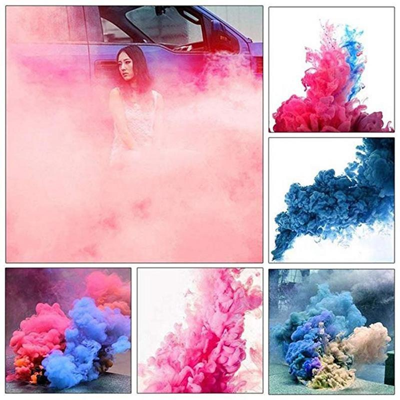 New Colorful Smoke Magic Fun Toy Accessories Fireworks Scene Background Photography Props Smoke Soft Magic Party Decoration